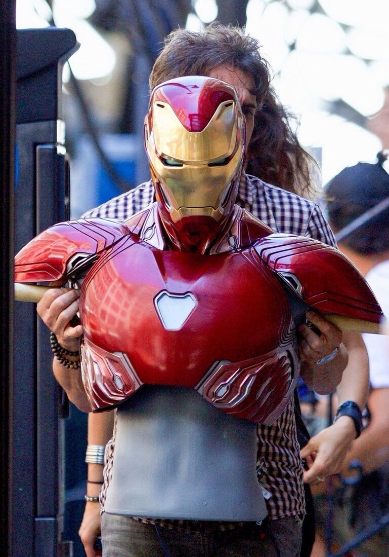 Traje de Iron Man en Avengers infinity War