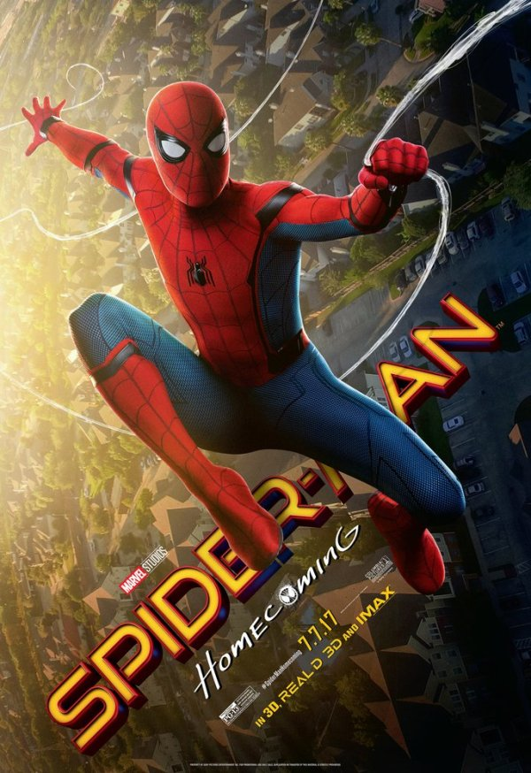 Nieuwe Tom Holland in Spider-Man: Homecoming poster