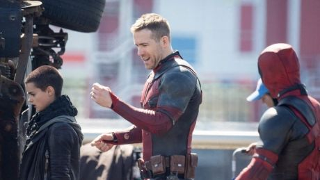 Ryan Reynolds is back in Vancouver for Deadpool 2