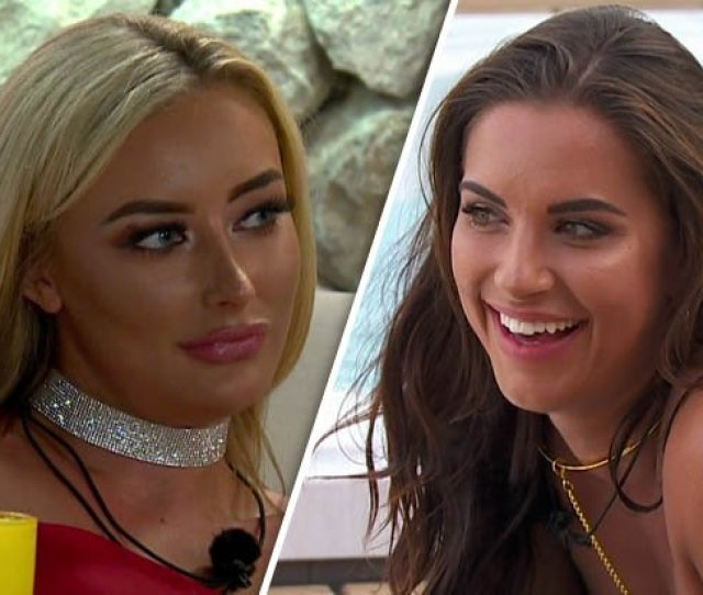 Jess Ditches Mike For Chloe With Raunchy Lesbian Makeout Sesh Loveisland