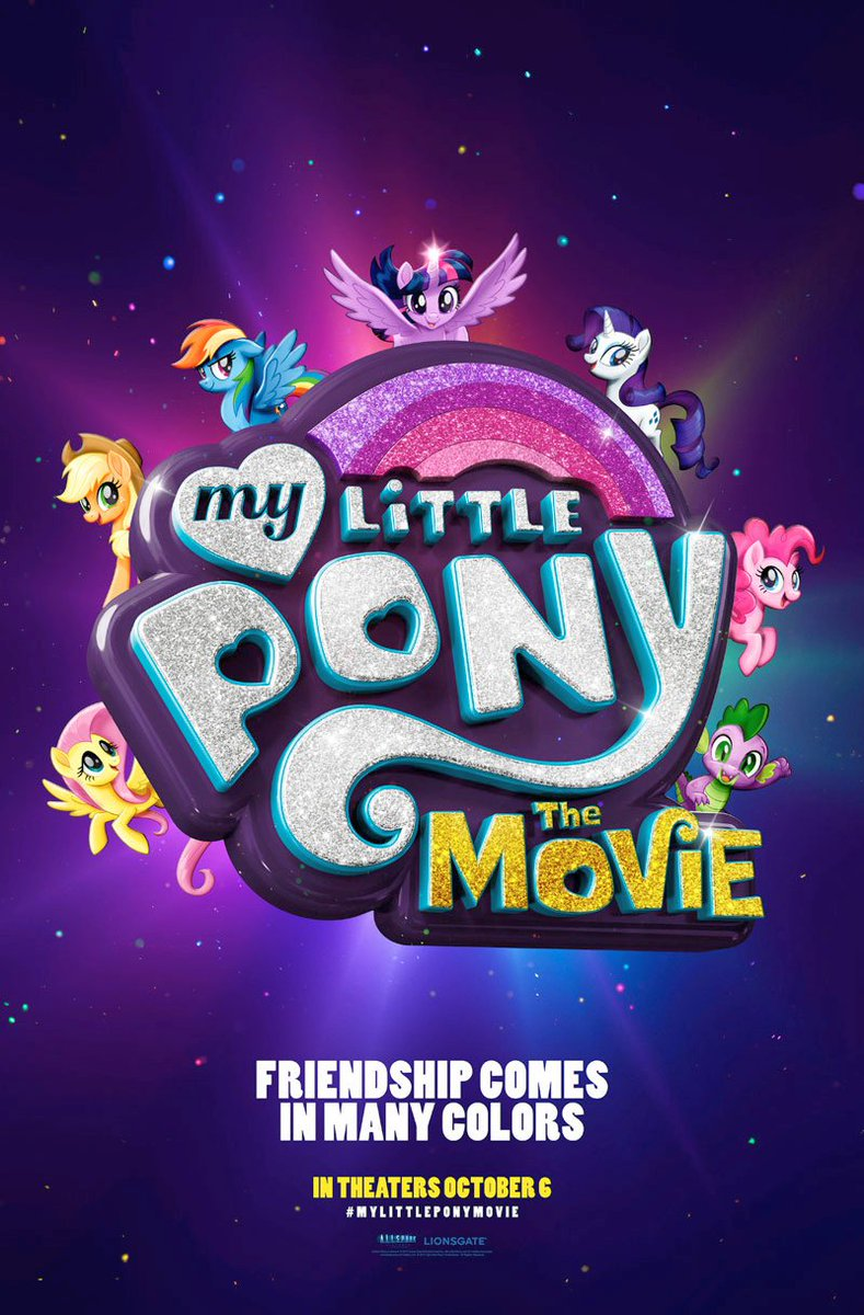 My Little Pony Movie Poster