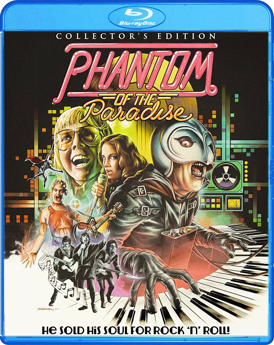 #BlurayDeals - PHANTOM OF THE PARADISE - $15.44: