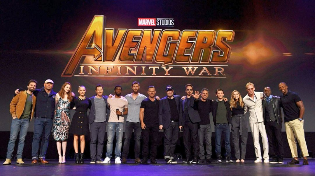 Avengers: Infinity War Principal Photography Wrapped 5