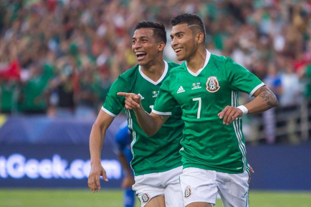 Repetición: Goles de México vs El Salvador