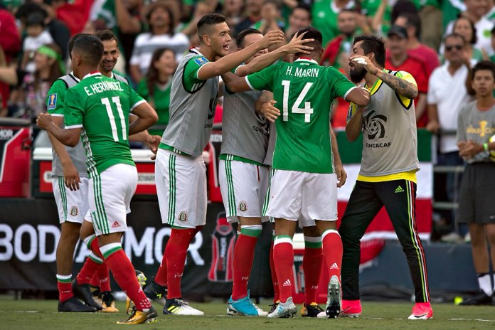 México vs El Salvador 2017