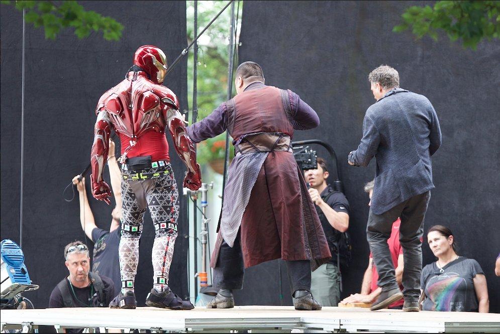 Avengers: Infinity War Set Photos Featuring Paul Rudd, Benedict Cumberbatch & More 7