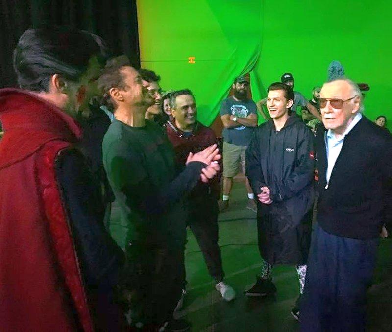 Avengers: Infinity War Set Photos Featuring Paul Rudd, Benedict Cumberbatch & More