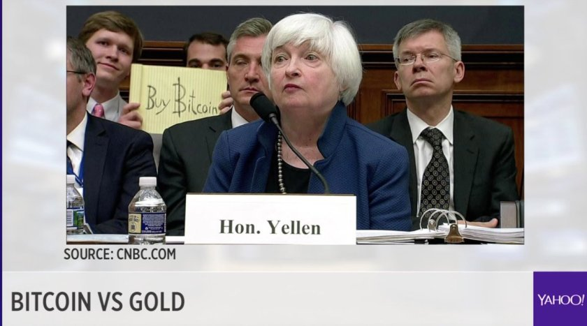 LIVE: Check out what happened during the #yellentestimony, #bitcoin vs. #Gold -