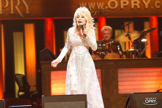 dolly parton, opry