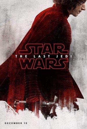 Nieuwe karakterposters van Star Wars VIII: The Last Jedi met Kylo Ren