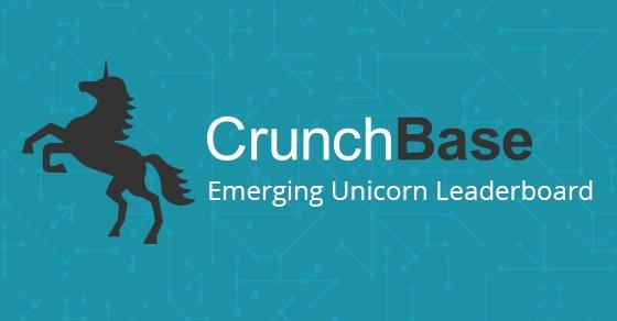 The @crunchbase Emerging Unicorn Leaderboard ft. @Lookerdata #Startup #Saas #tech
