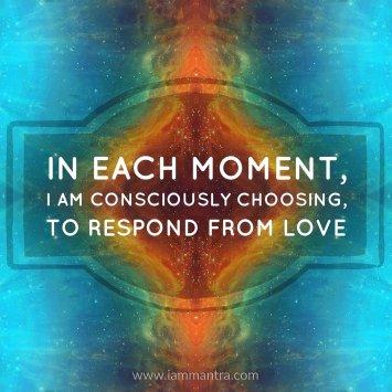 Image result for respond consciously