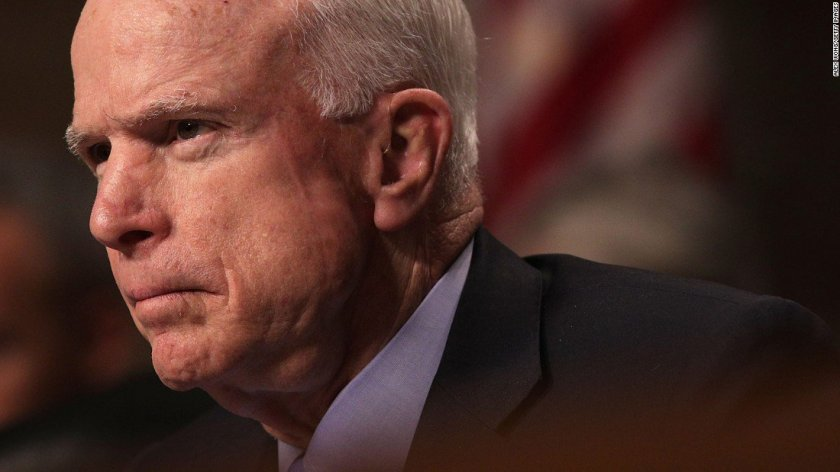 Sen. John McCain tweets his thanks for the support and says he'll 'be back soon'