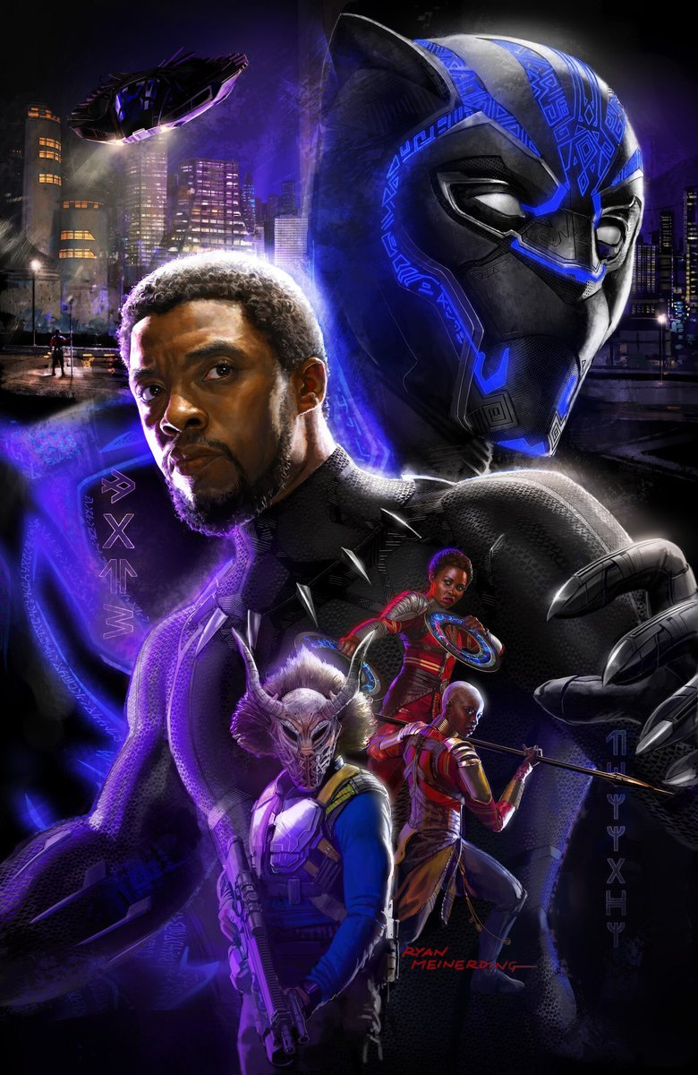 Black Panther Comic Con Poster