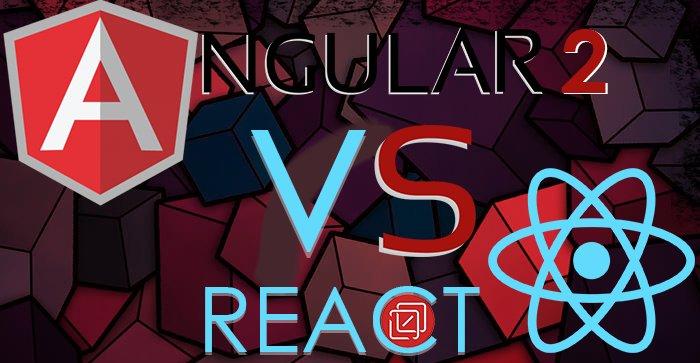 #AngularJS2 vs #ReactJS – War of Facts | An Infographic!  #javascript #AngularJS #HTML5
