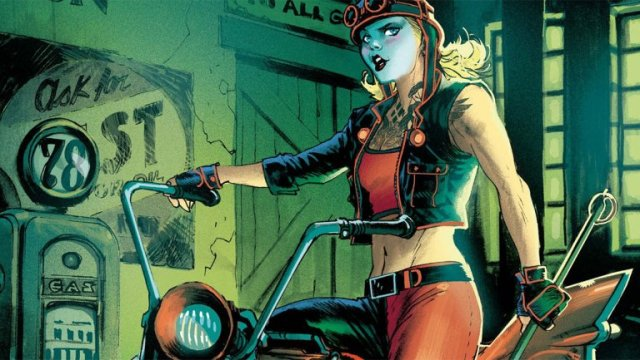 Why DC's female heroes are fighting fascism on motorcycles...