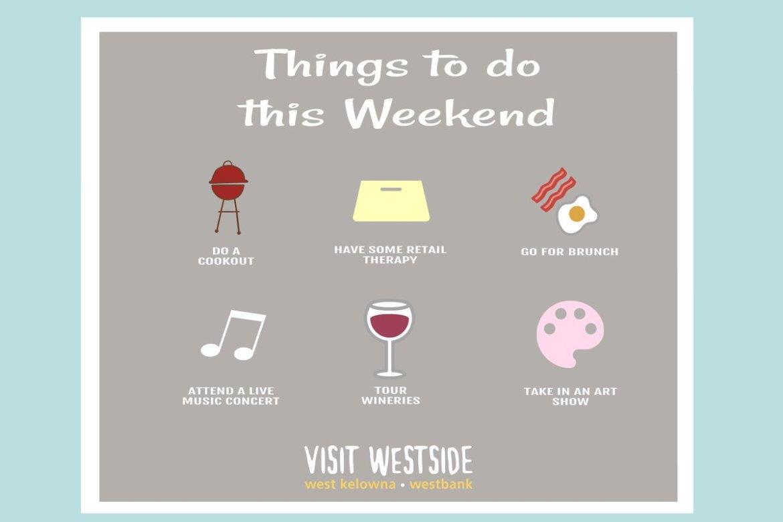 test Twitter Media - A few ideas for this weekend... https://t.co/qwZ3MY1sqA  #WestKelowna #Okanagan https://t.co/FTjnsqrBke