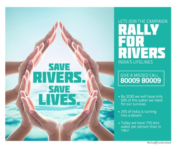 "Rally For Rivers on Twitter: ""A beautiful poster by AP ..."