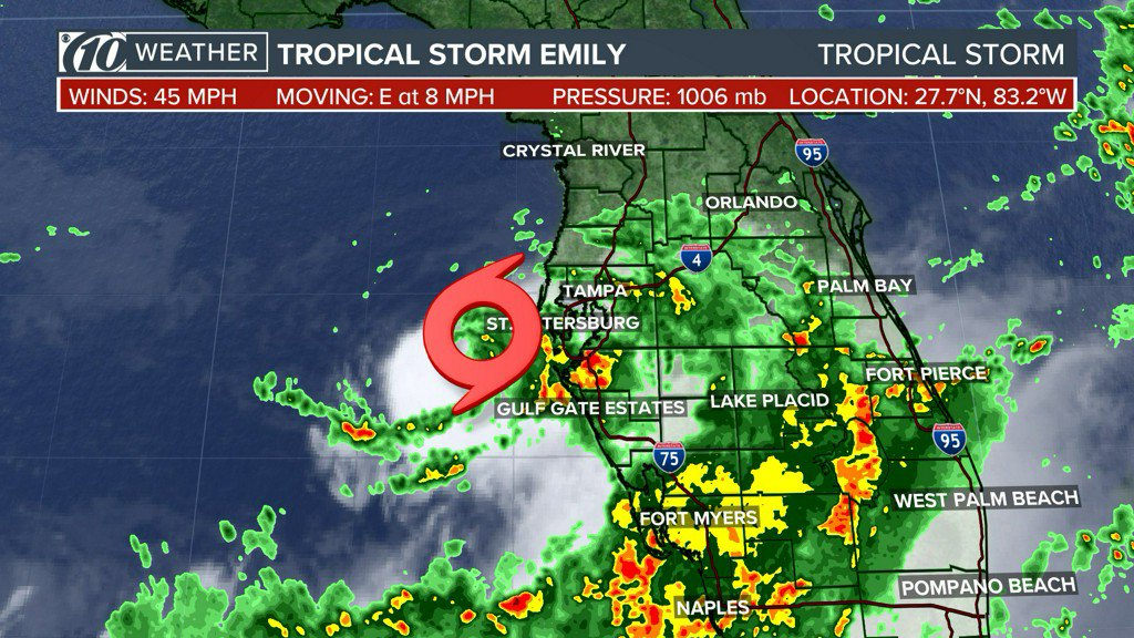 How to prepare for Tropical Storm Emily