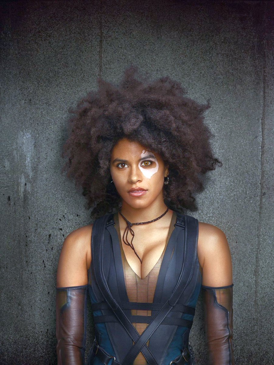 First Look At Domino From Deadpool 2 Unveiled