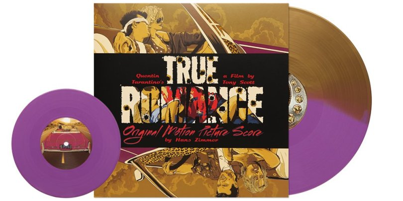 "Newbury Comics on Twitter: ""BrandNew NC exclusive color True Romance  soundtrack + 7"" in semi-embossed gatefold sleeve! https://t.co/gdCArOPq0x  #HansZimmer #TrueRomance… https://t.co/PU8z7Ul3WY"""