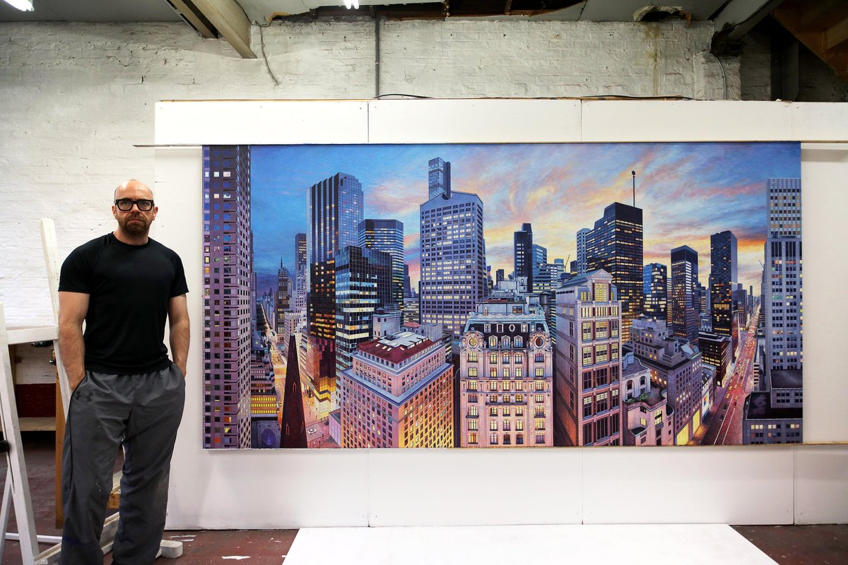 Nathan Walsh on Twitter   New painting finished  Peninsula  170 x     Nathan Walsh on Twitter   New painting finished  Peninsula  170 x 340 cms   art  NYC  painting  PeninsulaHotels