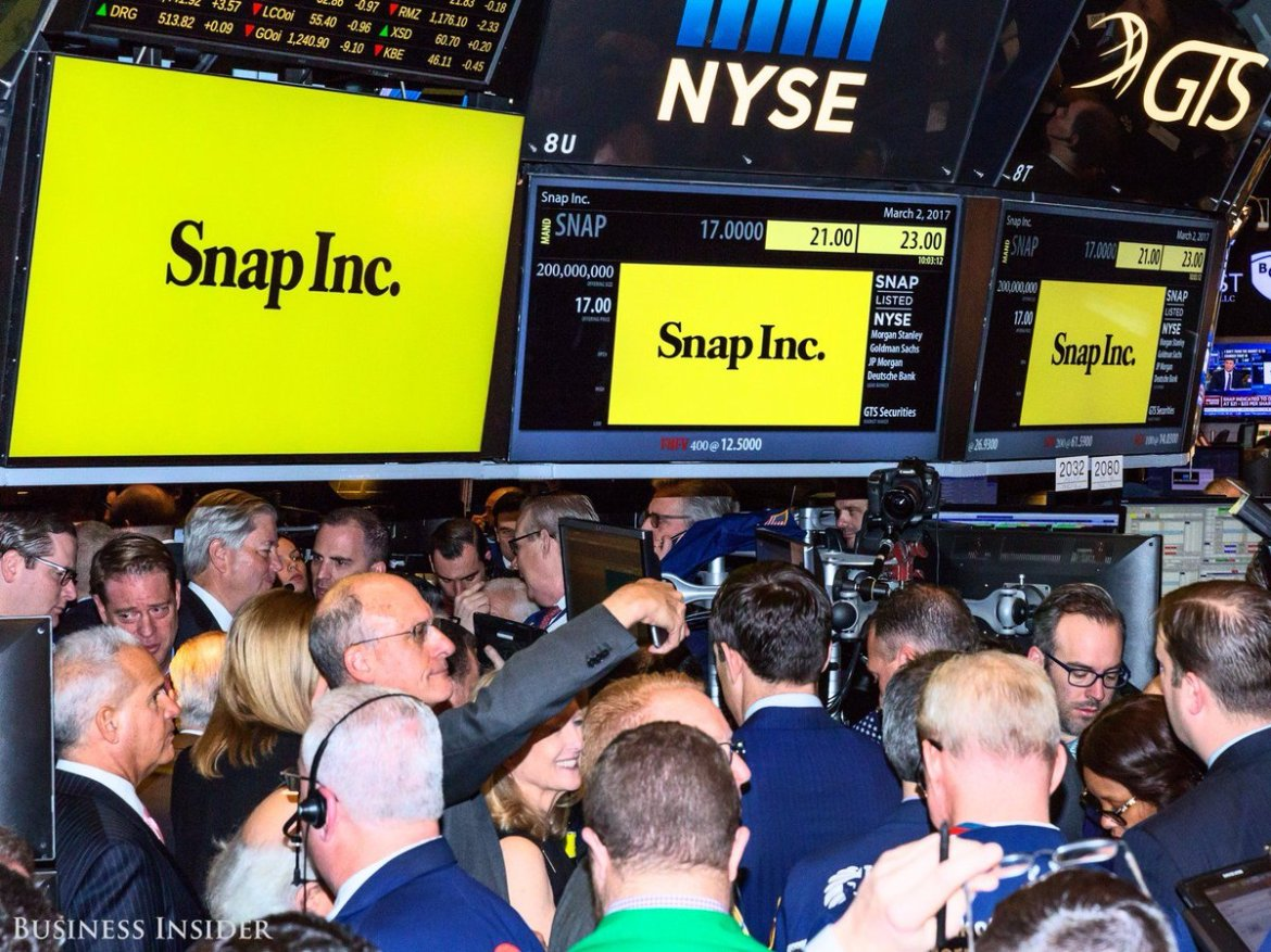 Snap pops following report that Google offered to buy it for at least $30 billion $SNAP