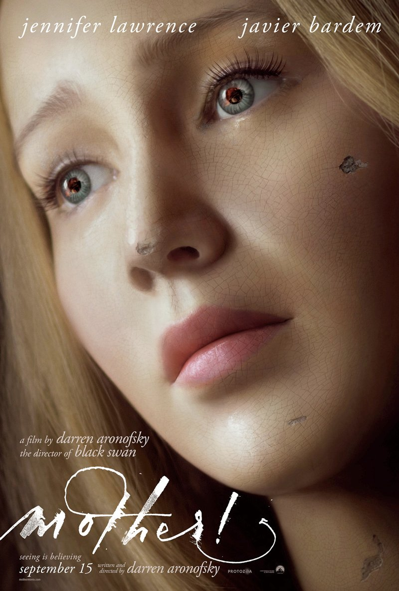 Mother! Trailer Featuring Jennifer Lawrence, Javier Bardem