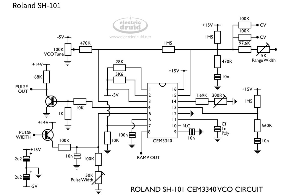 Reaktorplayer On Twitter Cem Vco Voltage Controlled