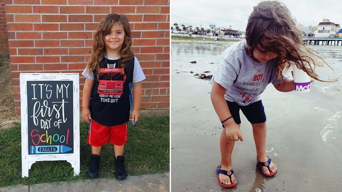 A Child from Texas was Sent Home From School Because of his Long Hair 1