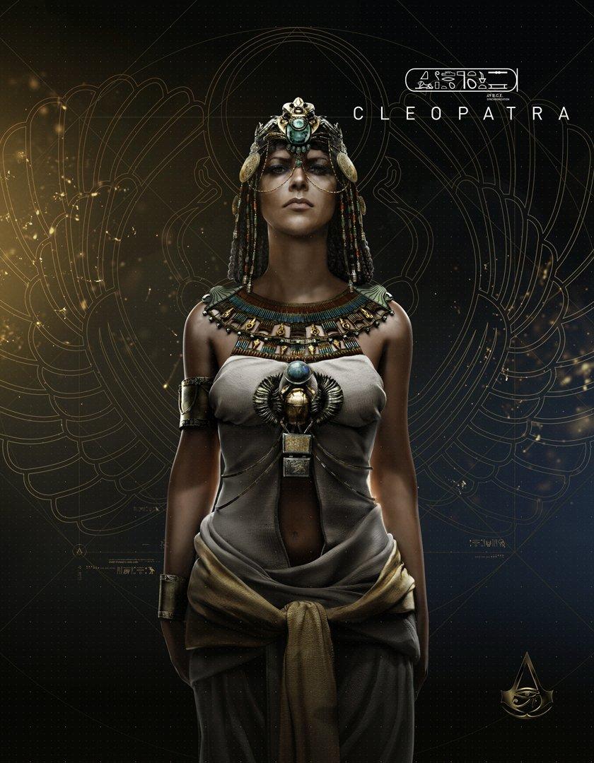 Assassin's Creed Origins Cleopatra