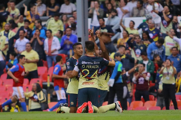 Goles América vs Tigres Apertura 2017