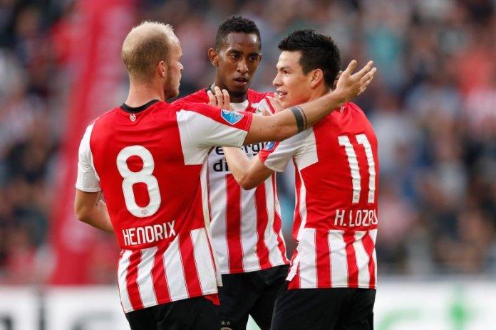 Gol de Chucky Lozano con el PSV