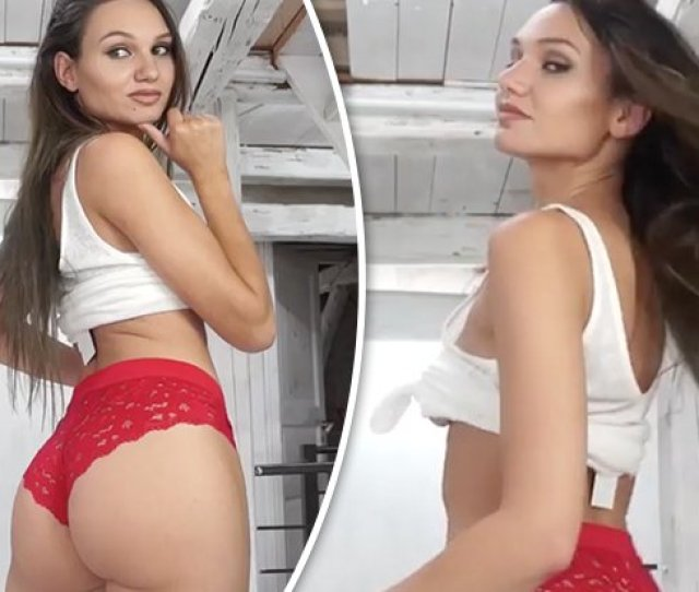 Fitness Model With Greatest A On The Internet Accidentally Flashes Boobs In