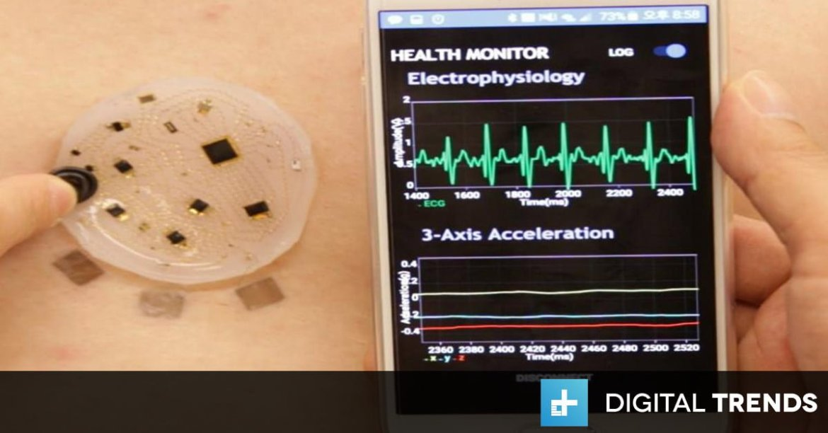 Stick-on patch monitors vitals, wirelessly transmits data to smartphone  #IoT #HealthTech