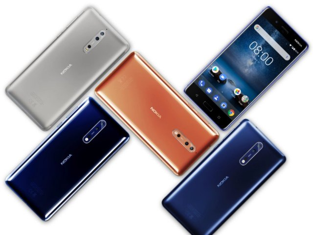 Android newbie HMD's Nokia 8 flagship lets you livestream 'frontbacks'...