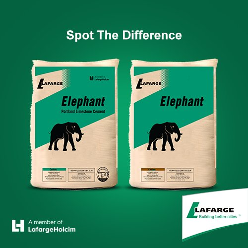 Image result for 3. LaFarge(Elephant) Cement