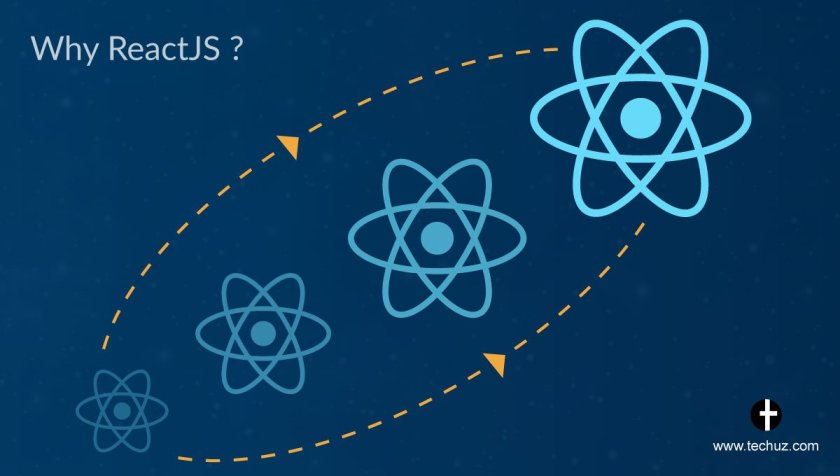 Why #Reactjs is more popular now a days?     #Javascript  #webdev  #WebApp