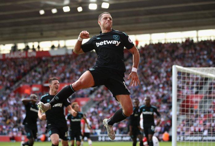 Gol Chicharito Hernández Southampton