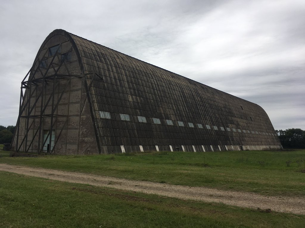 F Xavier Bernard on Twitter    WW1 hangar for airships located in     F Xavier Bernard on Twitter    WW1 hangar for airships located in  Ecausseville  Normandy  One of the few still existing in Europe