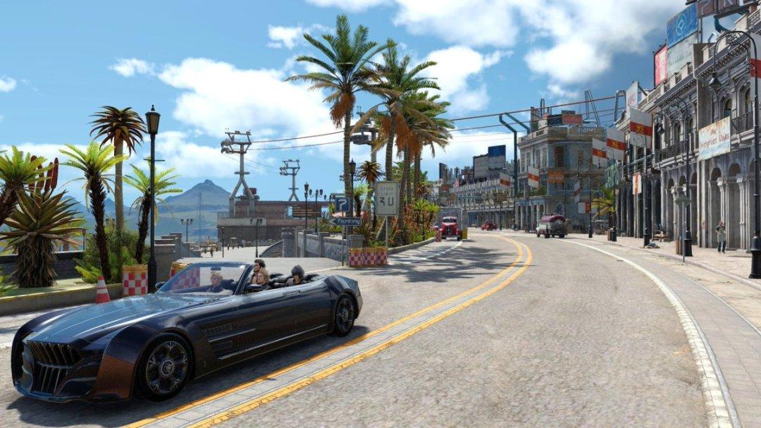 Final Fantasy XV 4K Screenshots