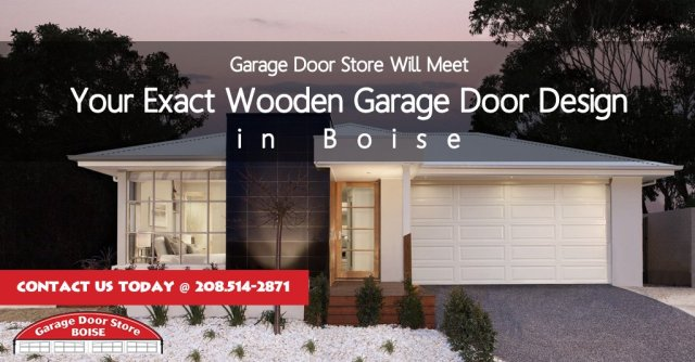 Garage Door Store Will Meet Your Exact #Wooden #GarageDoor Design in Boise....