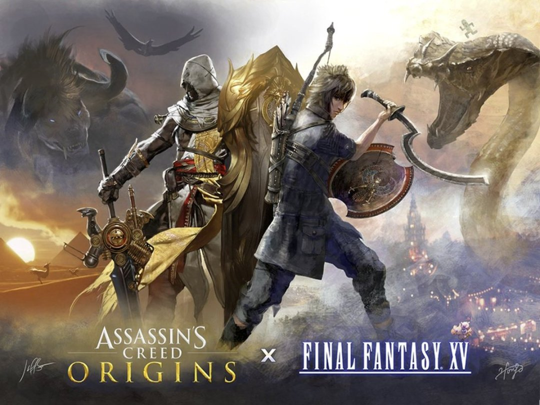 Final Fantasy XV & Assassin's Creed Collaboration Revealed