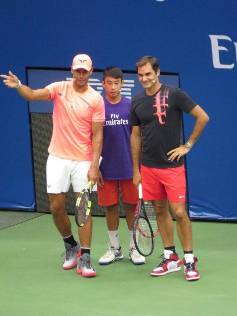 Nadal Federer US Open 2017