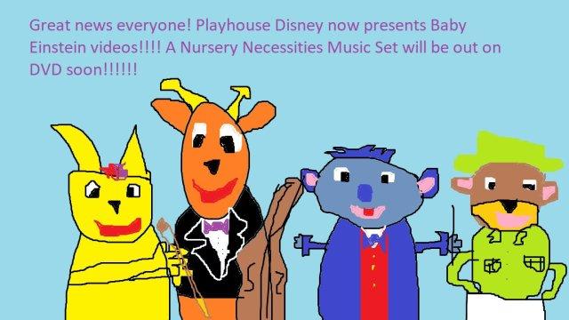 Playhouse Disney is now offering to present Baby Einstein on DVD!!!!...