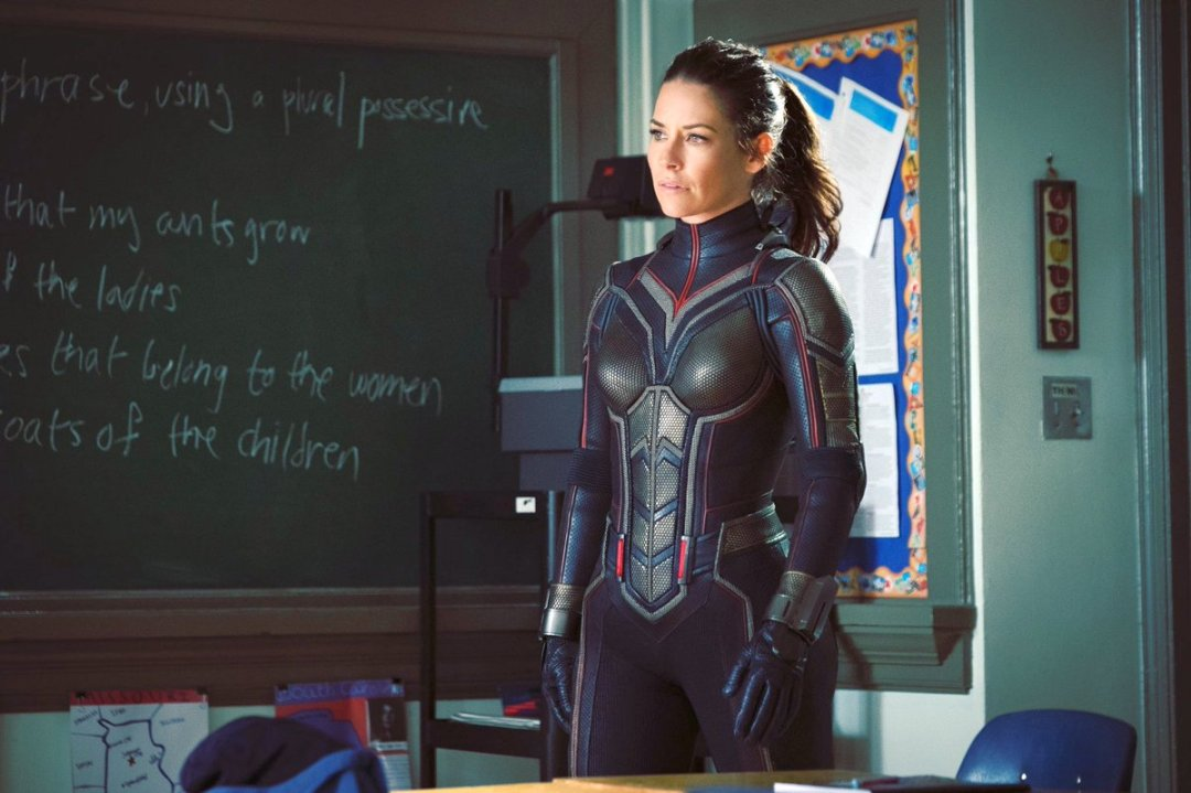 First Look At Evangeline Lilly As Wasp From Ant-Man and the Wasp Revealed