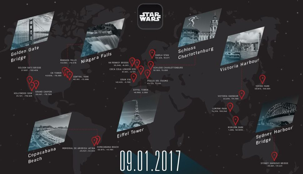 Star Wars Global Augmented Reality Event Planned for Force Friday II! - #StarWars -