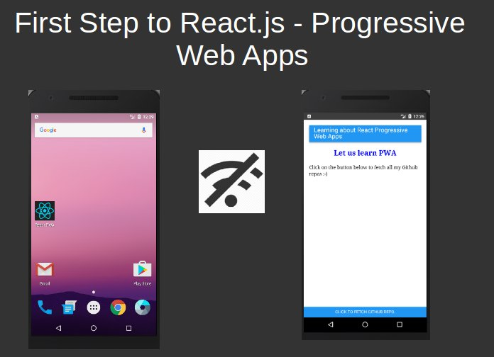 Make Progressive Web Apps with #ReactJS: