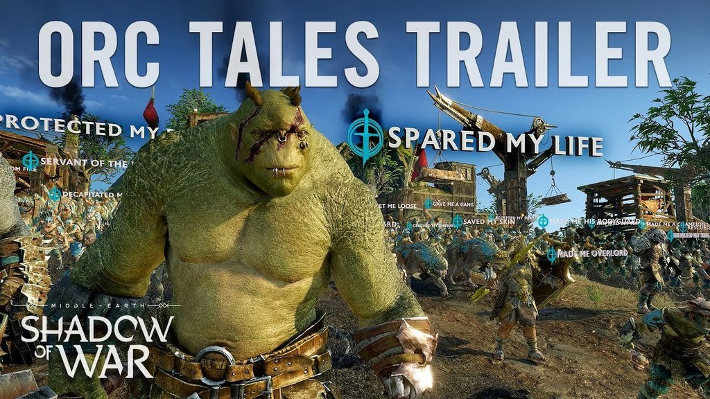 Middle-earth: Shadow of War Orc Tales Trailer 4