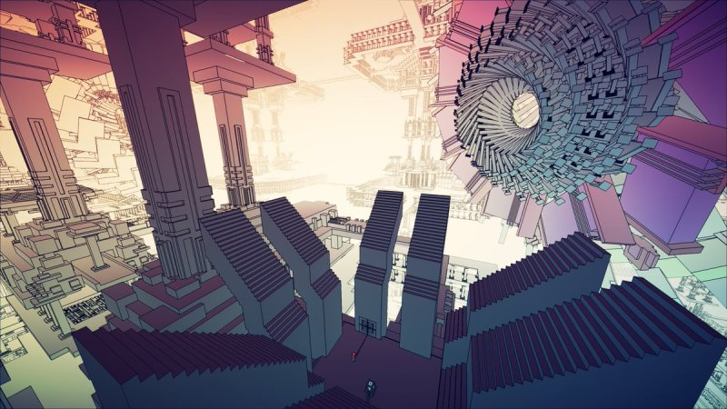 "Manifold Garden on Twitter: ""A collection of some screenshots taken this past week during development #screenshotsaturday #madewithunity… """